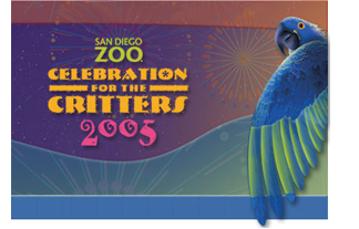 Animal Psychic Anupo Joy at the San Diego Zoo Celebration of the Critters